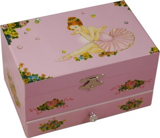 Eloise Musical Ballerina Jewellery Box