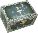 Midnight Ballerina Musical Jewellery Box