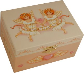 Angelica Musical Jewellery Box