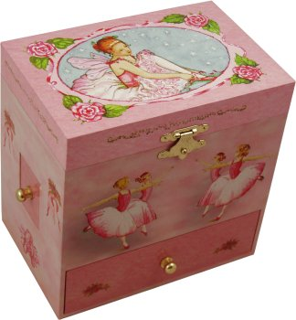 Jessica Ballerina Musical Jewellery Box