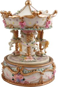 Serenata Luxury Hand Crafted Musical Carousels from Magical Music ...