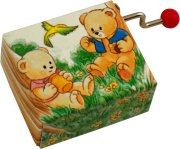 Bashful Bears Music Box