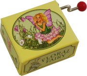 Floral Fairy Music Box