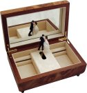Luxury Musical Jewellery Box with Dancers