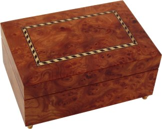 Swiss Reuge Musical Jewellery Box
