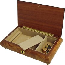 Luxury Musical Jewellery Boxes with Swiss Reuge Musical Movements